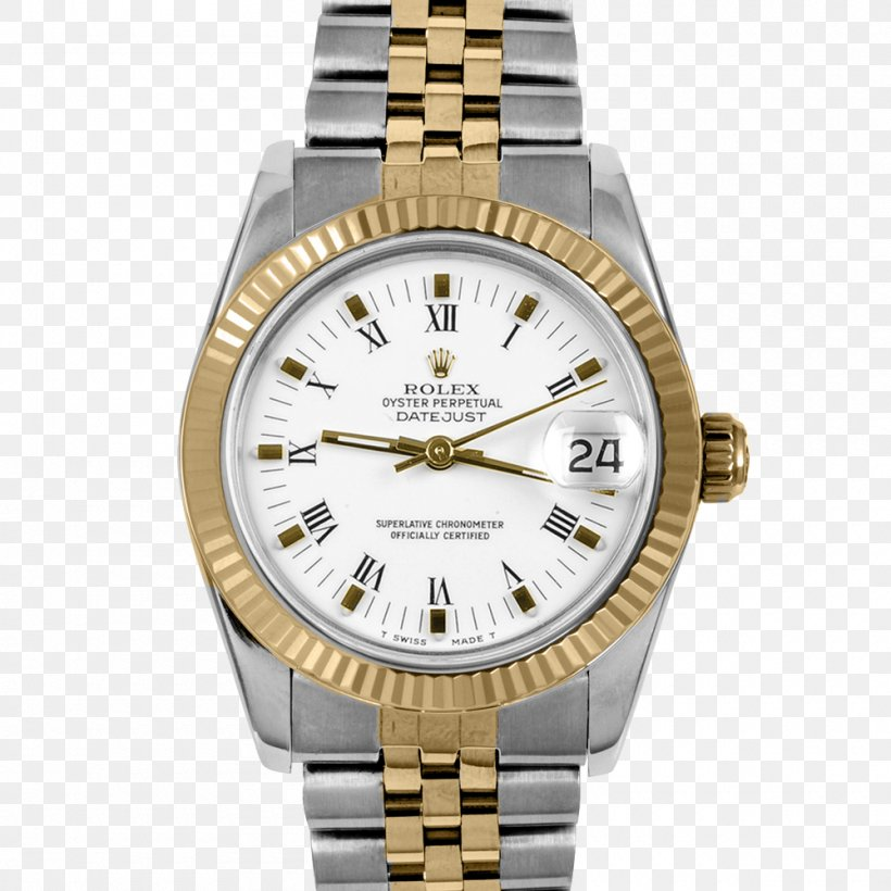 Rolex Datejust Watch Swiss Made Jewellery, PNG, 1000x1000px, Rolex Datejust, Brand, Chronograph, Gold, Jewellery Download Free