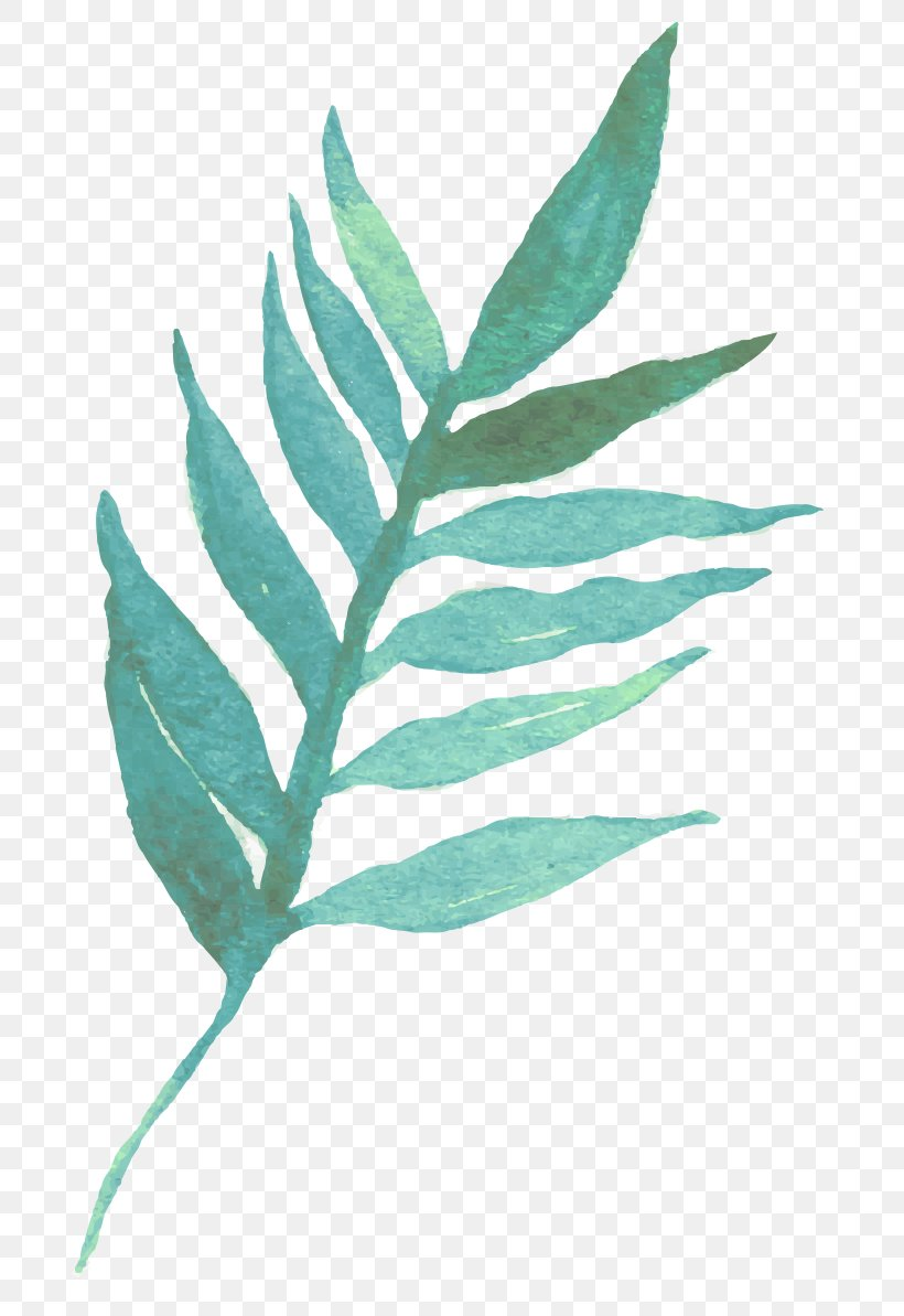Leaf Watercolor Painting Typography, PNG, 710x1193px, Leaf, Organism, Painting, Plant, Plant Stem Download Free