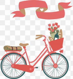 Vector Hand-painted Bike - Tabrik Nowruz New Year Holiday Greetings PNG