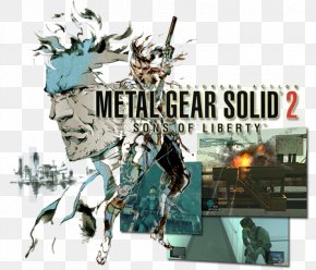 Metal Gear Solid 2 Sons Of Liberty - Metal Gear Solid 2: Sons Of Liberty Metal Gear 2: Solid Snake Metal Gear Solid 3: Snake Eater Metal Gear Solid V: The Phantom Pain PNG