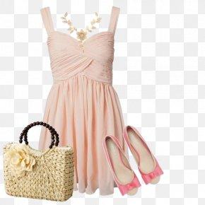 Princess Pink Dress - Pink Clothing Dress Fashion PNG