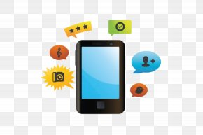 Mobile - Social Media Mobile Phones Communication Handheld Devices Telephone PNG