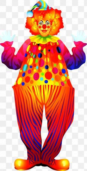 Circus Clown - Clown Mascot Costume Clip Art PNG