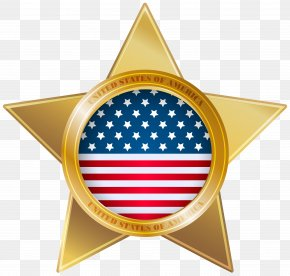 American Star Clip Art Image - United States Clip Art PNG