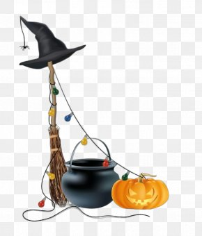 Metal Cookware And Bakeware - Witch Hat Hat Headgear Cauldron Cookware And Bakeware PNG