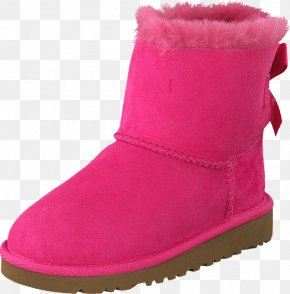 Uggs Bows - Snow Boot Shoe Product Walking PNG