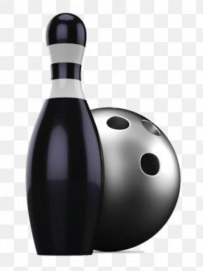 Black Bowling - Bowling Ball Bowling Pin Ten-pin Bowling PNG