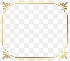 Frame Border Image - Picture Frame Clip Art PNG