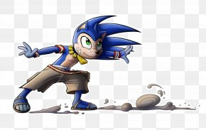 Concept Art - Sonic Boom: Rise Of Lyric Tails Shadow The Hedgehog Concept Art PNG