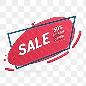 Web Banner Logo Sales PNG