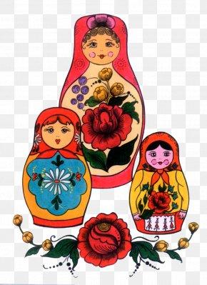 Toy - Matryoshka Doll Toy Coloring Book Pin PNG