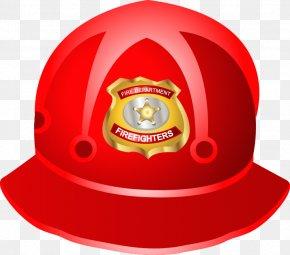 Fireman Helmet Vector Material - Helmet Firefighter Clip Art PNG