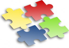 Puzzle Piece Vector - Jigsaw Puzzle Willow Oaks Branch Library Clip Art PNG