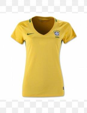 T-shirt - Brazil National Football Team T-shirt La Liga Tracksuit Online Shopping PNG
