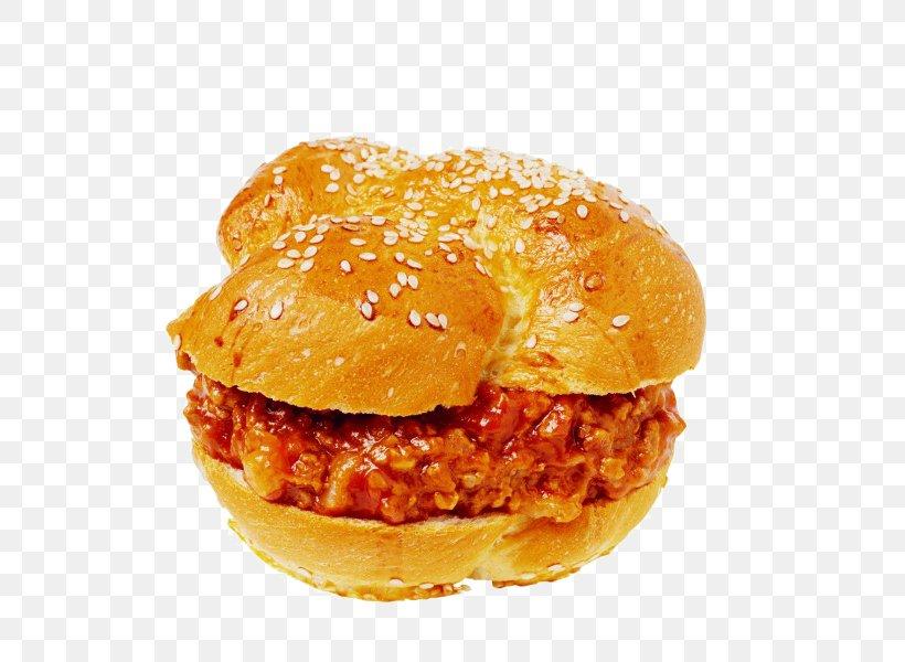 Hamburger Sloppy Joe Fast Food Cheeseburger Buffalo Burger, PNG, 600x600px, Hamburger, American Food, Breakfast Sandwich, Buffalo Burger, Bun Download Free