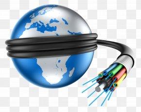 Internet - Optical Fiber Computer Network Internet Information Technology Data Transmission PNG