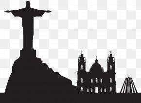 Rio Brazil Silhouette Clip Art - Rio De Janeiro Silhouette Icon Clip Art PNG
