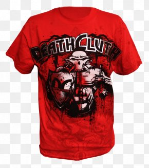 T-shirt - T-shirt Death Clutch: My Story Of Determination, Domination, And Survival UFC 116: Lesnar Vs. Carwin Clothing PNG