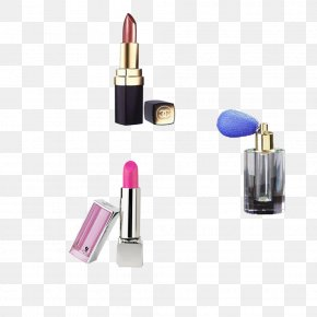 Makeup Lipstick - Lipstick Cosmetics Face Powder Make-up PNG