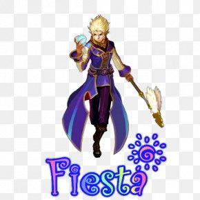 Fiesta Online 7 - Toy Purple Figurine Fictional Character Costume Design PNG
