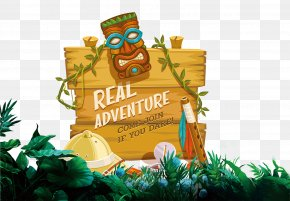 Forest Adventure - Safari Adventure Euclidean Vector PNG