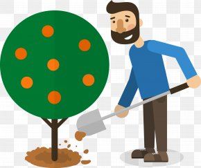 Man Planting Trees - Tree Google Images Poster PNG