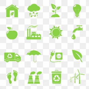 Energy And Environmental Protection - Environmentally Friendly Recycling Symbol Icon PNG