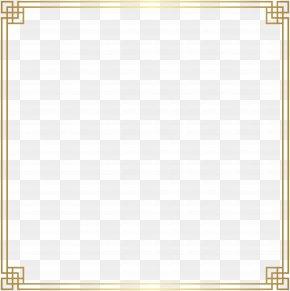 Border Frame Decoration Transparent Clip Art Image - Picture Frame Window PNG