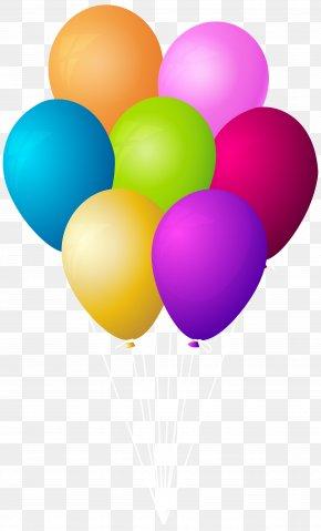 Balloons Bunch Transparent Clip Art Image - Clip Art PNG