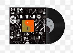 Environmental Album Design - 22, A Million Bon Iver, Bon Iver Album Phonograph Record PNG
