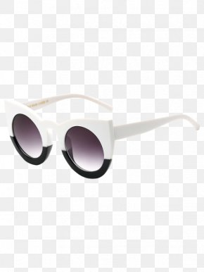 Color Sunglasses - Goggles Sunglasses Cat Eye Glasses Fashion PNG