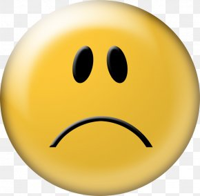 Frowning Smiley Face - Smiley Frown Emoticon Clip Art PNG