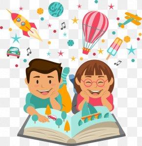 Summer Reading Border Challenge - Clip Art Child Care Pre-school PNG