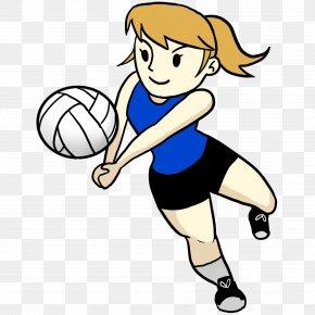 Cartoon Volleyballs - Beach Volleyball Cartoon Clip Art PNG