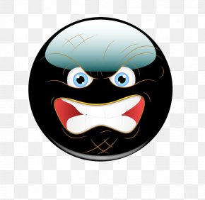 Black Chat Crazy Expression - Facial Expression Anger PNG