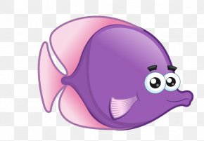 Cartoon Sea Animals - Drawing Cartoon PNG
