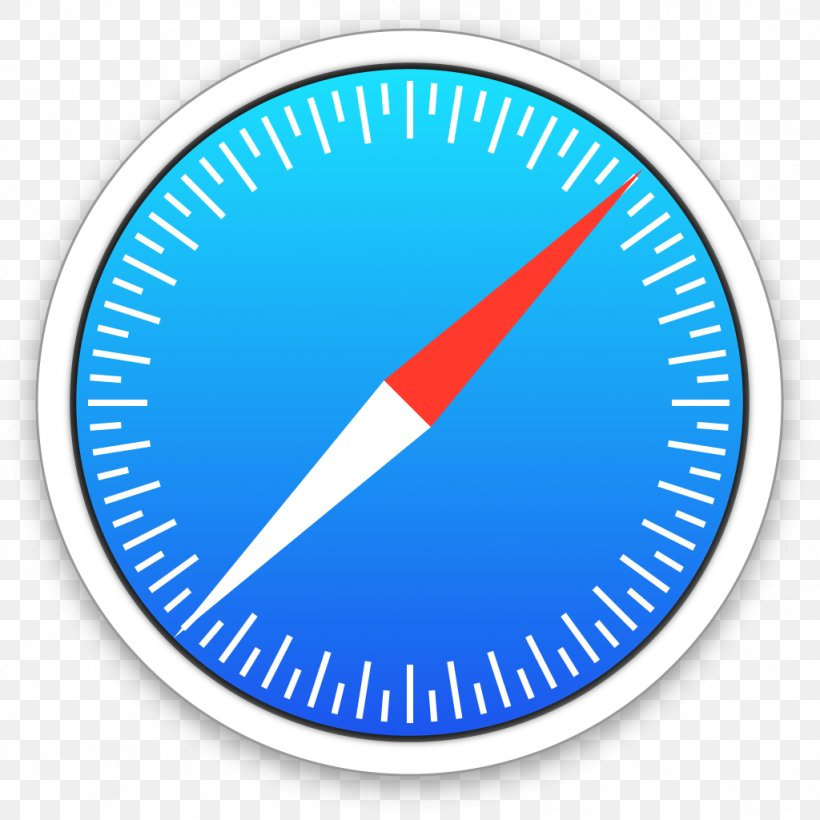 Safari MacOS Icon Apple Web Browser, PNG, 1024x1024px, Safari, Apple, Area, Blue, Gauge Download Free