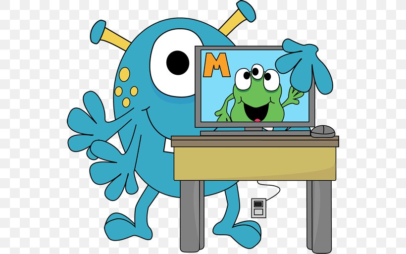 Computer Lab Theme Clip Art, PNG, 550x513px, Computer, Art, Artwork, Classroom, Computer Graphics Download Free