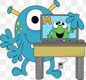 Computer Homework Cliparts - Computer Lab Theme Clip Art PNG