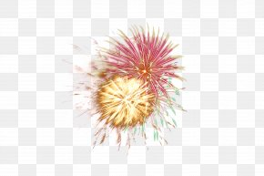 Explosive Splash Fire Instantaneous Vector Material - Fireworks PNG