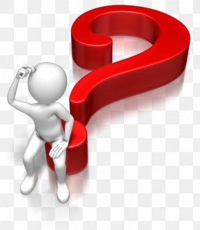 Confused Stick Figure - Question Mark Animation Microsoft PowerPoint Clip Art PNG