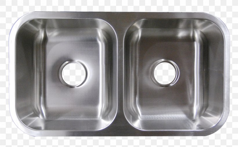Kitchen Sink Plumbing Fixtures Stainless Steel Brushed Metal, PNG, 3214x1986px, Sink, Bathroom, Bathroom Sink, Bedroom, Bowl Download Free