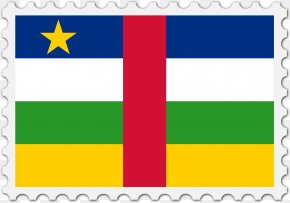 Republic - Flag Of The Central African Republic National Flag Flag Of Chad PNG