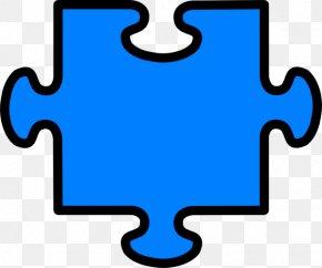 Puzzle Pieces Outline - Jigsaw Puzzles Clip Art PNG