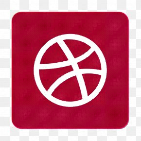 Rectangle Peace - Ball Icon Dribbble Icon PNG