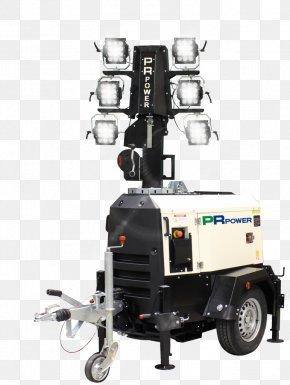 Light Tower - Lighting Light-emitting Diode LED Lamp Machine PNG