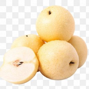 Delicious Crown Pear - Asian Pear Pyrus × Bretschneideri Pyrus Nivalis Fruit Williams Pear PNG