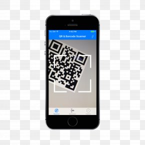Scanner - IPhone QR Code Handheld Devices Barcode Scanners Image Scanner PNG