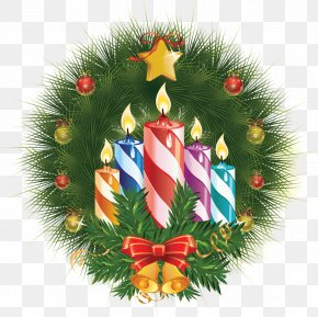 Christmas Candles Creative - Birthday Cake New Years Day Christmas Candle PNG