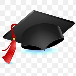 Graduation Cap - Graduation Ceremony Square Academic Cap Student School Education PNG